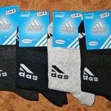 Носки подростковые Adidas летние спортивные стрейч р.36-39 Турция.