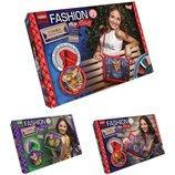 Набор для творчества Fashion Bag Danko Toys FBG-01-03 вышивка мулине
