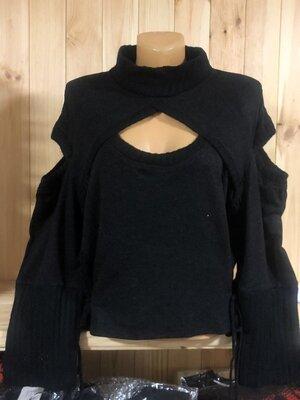Шикарная модная кофточка свитерок Оверсайз красивого фасона