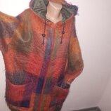 большой размер пальто-пиджак шерсть рукав от плеча плечи 66 под подмышками спереди 77 пот 74 поб 73