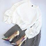Белый милый свитер от Н&м