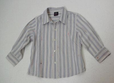 Next. Рубашка с длинным рукавом. 12-18 месяев.