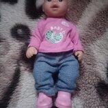 Кукла пупсик мини беби борн baby born zapf creation doll оригинал