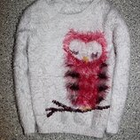 Свитшот травка джемпер свитер сова