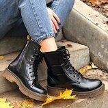 Ботинки кожа натуральная, цвета, тренд зима 2020 , 36-40р,