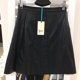 Кожаная юбка британского бренда Yumi 1965