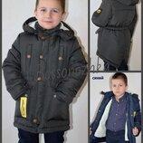 рост 110-146, Зимняя куртка парка для мальчика. Зимняя куртка для подростков, Зимова куртка дитяча