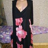Шикарное Вечернее Длинное Брендовое Платье 24 размер