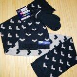 Комплект шапка шарф и варежки Lupilu