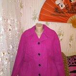Яркое кашемировое пальто куртка бренд