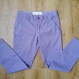 Лавандовые брюки h&m, без следов носки