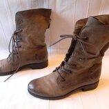 Кожаные ботинки р.41--стелька 27см