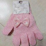Массажная мочалка перчатка минни мауз, 2шт в наборе Disney