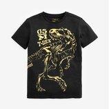 Футболка Long Sleeve Foil Dinosaur T-Shirt 3-14 лет