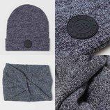 Комплект H&M шапка шарф-хомут