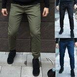Зимние брюки карго мужские утепленные микрофлисом