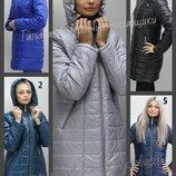 40-74 Демисезонная женская куртка. Жіноча куртка демі, Куртка с капюшоном. Большие размеры. ботал