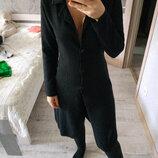 Теплый шерстяной удлиненный кардиган кардиган-платье шерсть мериноса