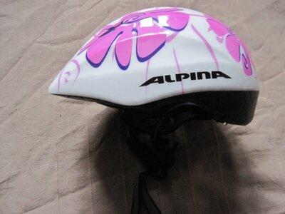 Alpina Comet 2 51-55 см велошлем детский
