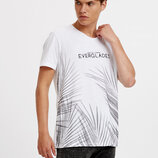 Белая мужская футболка LC Waikiki / Лс Вайкики Everglades