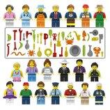 Фигурки, человечки лего, lego аналог