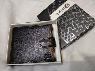 Кожаный мужской кошелек Calvin Klein, CK, Кельвин Кляйн с коробкой, портмоне Calvin Klein