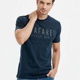Синяя мужская футболка LC Waikiki / Лс Вайкики Seafarer