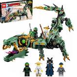 Конструктор Lepin Ninja Movie Зеленый дракон