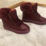 Шикарные женские зимние ботинки страна производитель Польша размер 36-41 Доставка Бесплатно