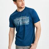 Синяя мужская футболка LC Waikiki / Лс Вайкики Racing & Cruising North Shore