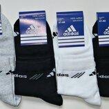 Носки мужские летние Adidas спортивные стрейч сетка р.41-44 Турция