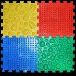 Массажный коврик Пазлы Микс 4 элемента