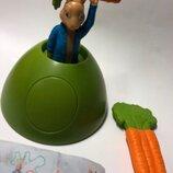 McDonalds Игрушка Хеппи мил макдональдс Коллекционная игрушка фигурка кролик питер петрик зайчик