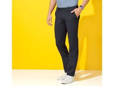 Хлопковые штаны чиносы slim fit livergy размер 50