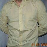 Стильная нарядная новая деловая рубашка сорочка бренд Tom Hagan.м-л .
