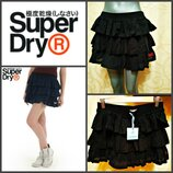 Новая юбка superdry bouquet skirt in purple