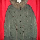 куртка курточка Yessica теплая парка размер 46/48