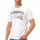 Белая мужская футболка LC Waikiki / Лс Вайкики Ocean is Calling