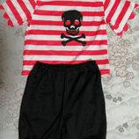 Карнавальный новогодний костюм пирата на 2-4года