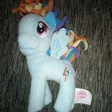 мягкая пони my little pony Радуга