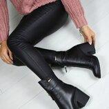 Ботинки jador зима натуральная кожа