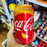 Кока Кола со вкусом апельсина и ванили