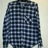 Рубашка теплая для мальчика 15-16лет