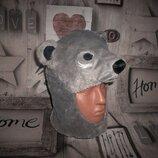 Зверошапка шлем Медведь рр. 3-5 лет