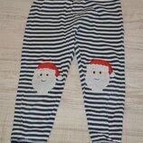 Трикотажные штаники. Пижамные George р.5-6лет