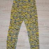 Трикотажные узенькие штаники. Пижамные H&M Размер.4-6Лет