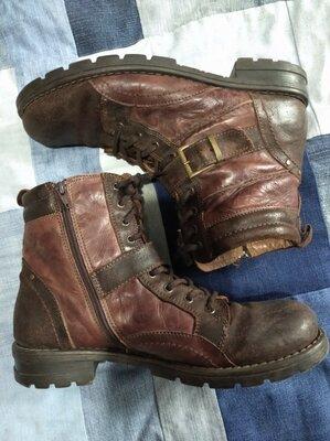 Мужские кожаные ботинки 42 размер