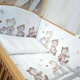 детское постельное белье в кроватку новорожденного. для кроватки размером 120 60 см. комплект