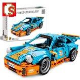 Конструктор Sembo Block 701502 Technic Техник Porsche 911 Порше 911 аналог Lego Technic , 517 дет.
