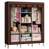Мобильный тканевой шкаф для одежды HCX Storage Wardrobe 88130